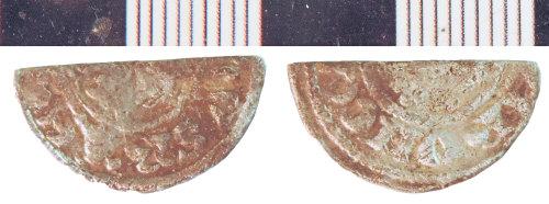 NLM-949BBF: Medieval Coin: Halfpenny of John