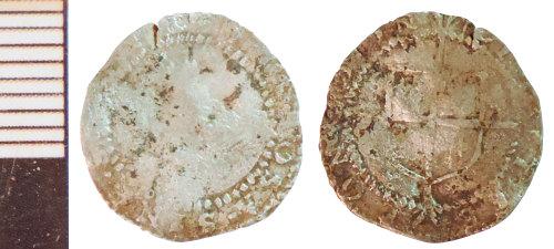 NLM-F892EA: Post-Medieval Coin: Penny of Elizabeth I