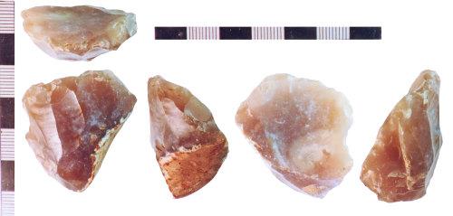 NLM-13BA87: Mesolithic Core fragment