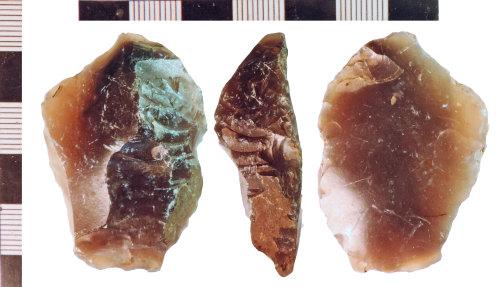 NLM-13C43C: Bronze Age Scraper