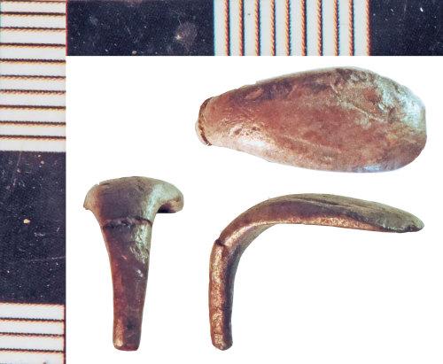 NLM-A3F09D: Roman Snake Ring fragment