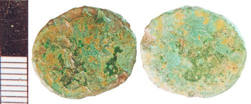 NLM-0DF6D5: Roman Coin: Radiate indeterminate