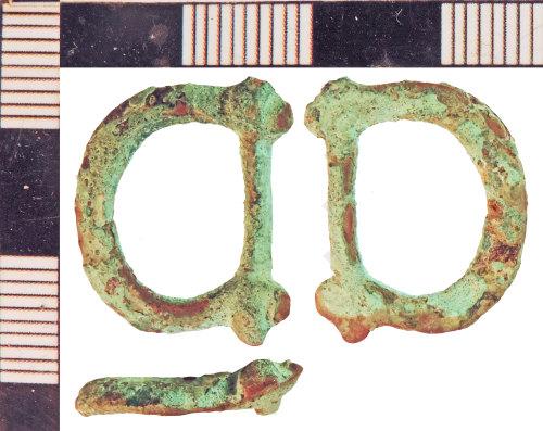 NLM-0EFFEE: Post-Medieval Buckle fragment