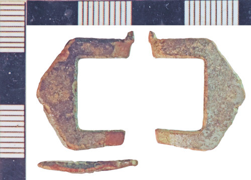 NLM-0F1084: Post-Medieval Buckle fragment