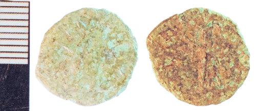 NLM-4ED2A0: Roman Coin: Radiate of Tetricus I