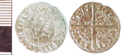 NLM-B809EC: Medieval Coin: Scots Penny of Alexander III