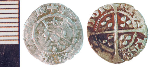 NLM-B8F927: Medieval Coin: Farthing of Henry VI