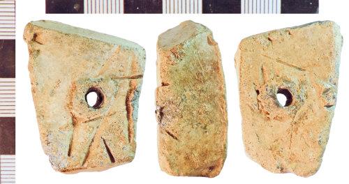 NLM-B94412: Post-Medieval Lead Weight