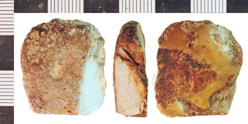 NLM-4CEA84: Neolithic Scraper