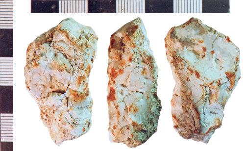 NLM-4CF6C5: Undated Burnt Flint fragment