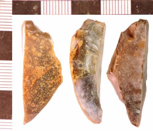 NLM-741EC0: Neolithic Scraper fragment
