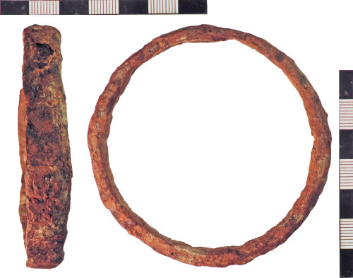 NLM-747712: Post-Medieval Iron Ring