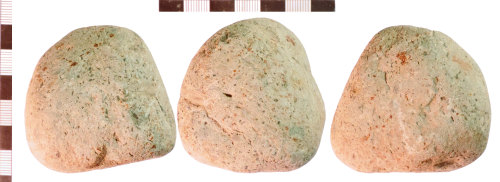 NLM-74889D: Undated Stone Muller or Grinder