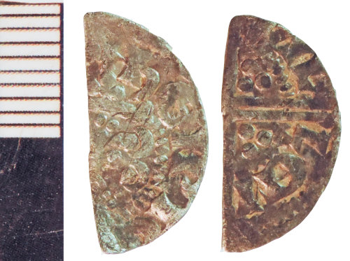 NLM-DD9A7A: Medieval Coin: Halfpenny of Henry III