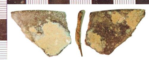 NLM-85FA42: Undated Vessel fragment
