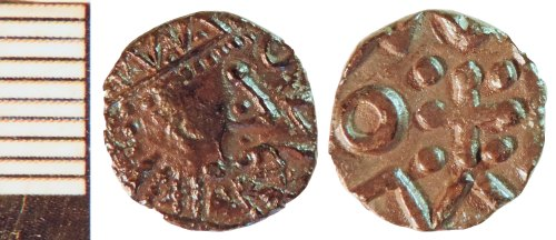 NLM-ACD40C: Early Medieval Coin: Series D Sceat