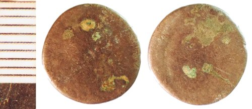 NLM-AD46D9: Early Medieval Coin: Series R Sceat
