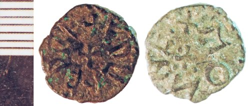 NLM-B0AF42: Early Medieval Coin: Northumbrian Styca of Ethelred II