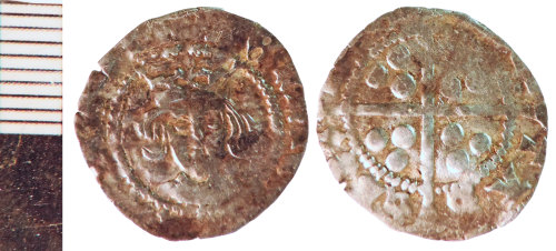 NLM-2492A6: Medieval Coin: Penny of Henry VI