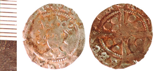 NLM-24A4F3: Medieval Coin: Penny of Henry VI