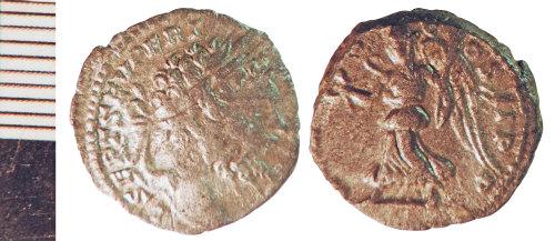 NLM-221EC3: Roman Coin: Denarius of Septimius Severus