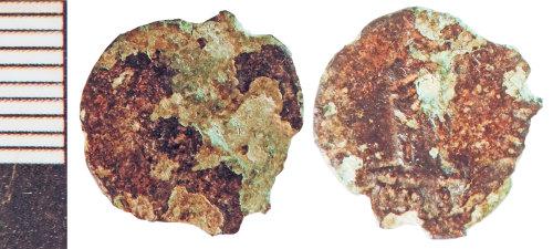 NLM-8EEAA9: Roman Coin: Nummus of Fausta