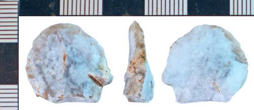 NLM-C8B42D: Bronze Age Scraper
