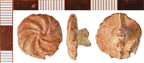 NLM-B2E4F9: Post-Medieval Button fragment