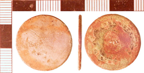 NLM-B34997: Post-Medieval Button