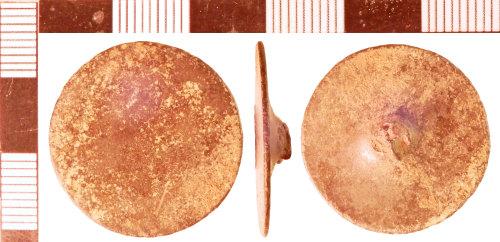 NLM-B352A9: Post-Medieval Button