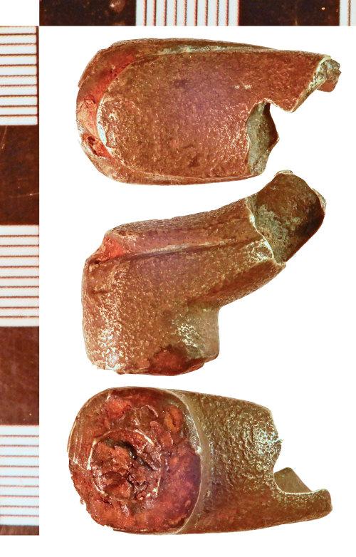 NLM-DF8353: Post-Medieval Door Handle fragment