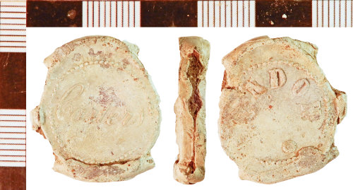NLM-F392F5: Post-Medieval Bag Seal