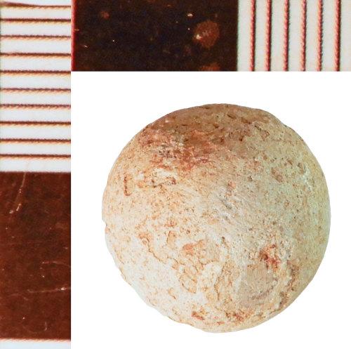 NLM-9904D1: Post-Medieval Lead Shot