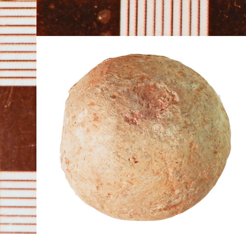 NLM-AD1D78: Post-Medieval Musket Ball