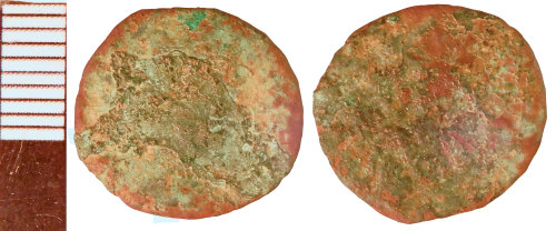 NLM-021402: Roman Coin: Nummus of the House of Constantine