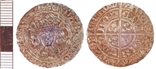 NLM-1A9E57: Medieval Coin: Groat of Edward IV [second reign]