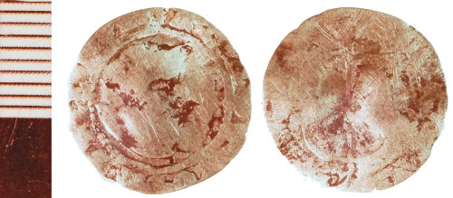 NLM-1B0CAE: Post-Medieval Coin of an indeterminate ruler