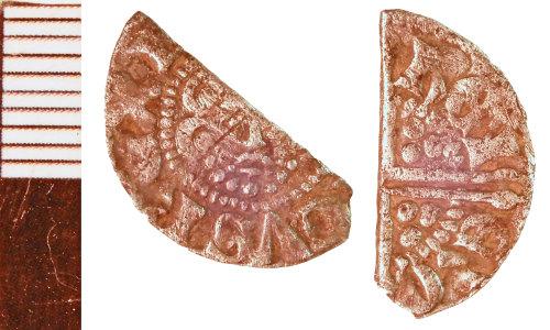 A resized image of Medieval Coin: Halfpenny of Henry III