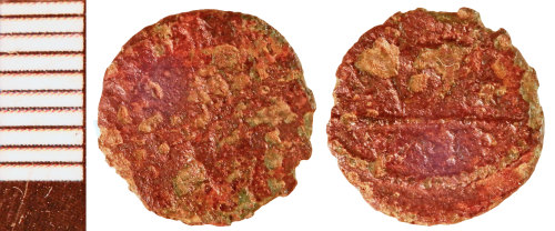 NLM-AE4C92: Roman Coin; possibly a Barbarous Radiate