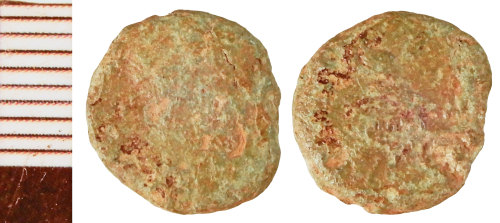 NLM-BF5795: Roman Coin: Nummus of the House of Constantine