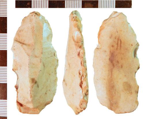 NLM-94CA58: Mesolithic Plano-Convex Knife