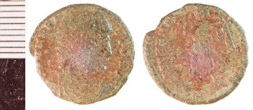 NLM-1107E2: Roman Coin: Nummus of Valens