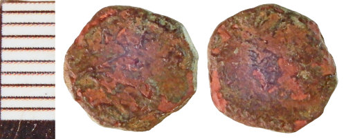 NLM-255878: Roman Coin: Barbarous Radiate