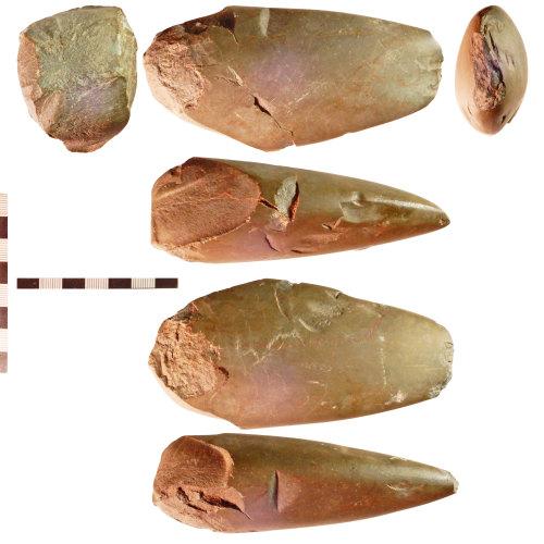 NLM-E333DB: Neolithic Polished Axehead, modified