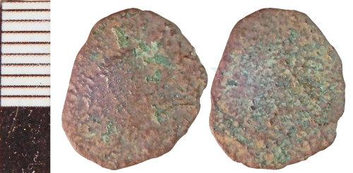 NLM-F76B5B: Roman Coin: Radiate indeterminate