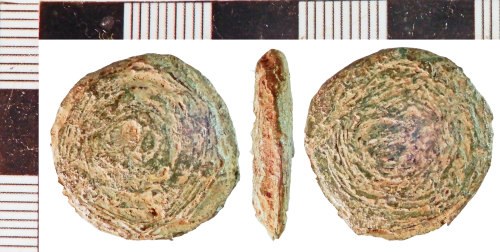 NLM-889A4E: Post-Medieval Weight
