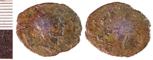 NLM-C9E47F: Roman Coin: Radiate indeterminate