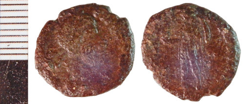 NLM-C9FFC9: Roman Coin: Nummus of the House of Constantine