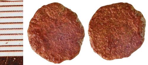 NLM-CA5DB3: Roman Coin: Radiate or Nummus indeterminate