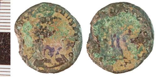 NLM-ECDC03: Roman Coin: Nummus of Constantine I